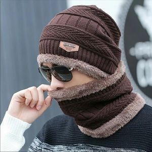 Beanies + scarf